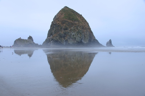 La côte de l'Oregon