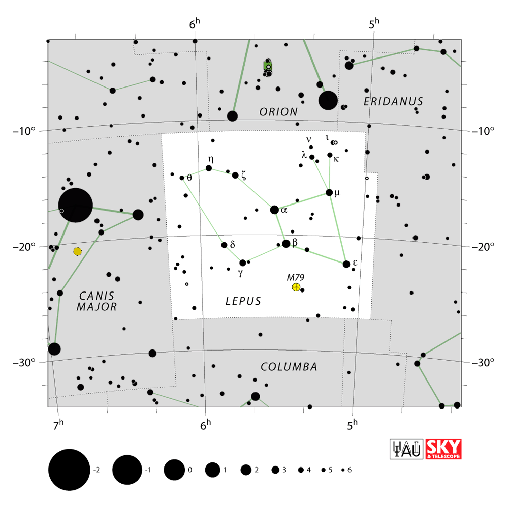 lepus map