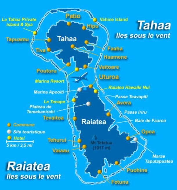 Tahaa, l'île Vanille