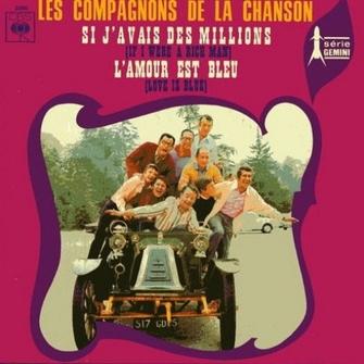 Les compagnons de la chanson, 1970