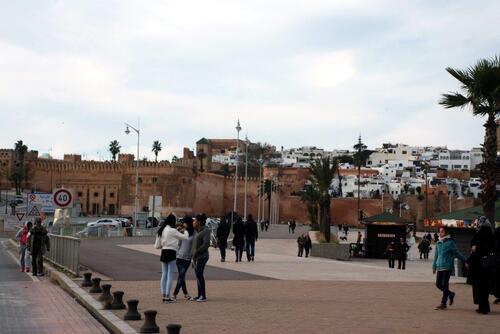 Les murailles de Rabat