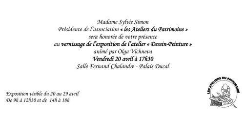Expostion au Palais Ducal