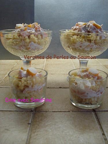 Verrines de Perles au Saumon 6