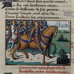louis XI cantons suisses vigiles charles VII