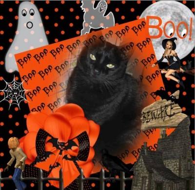 bonne toussaint et Halloween à tous