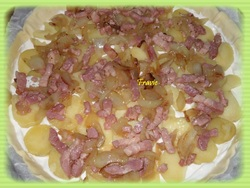 Tarte P2T / lardons / jambon
