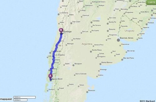 04.04.2013 - Puerto Varas > Santiago