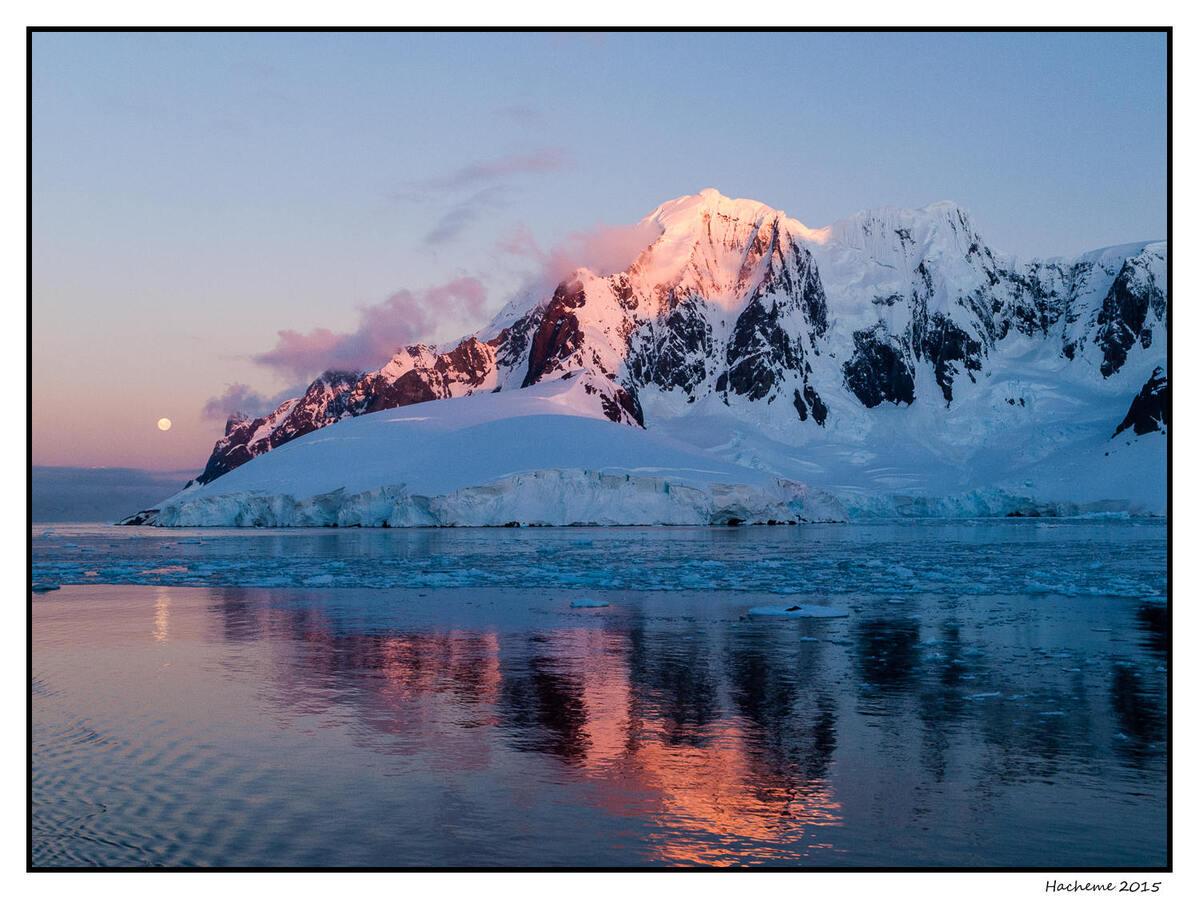 Chenal Lemaire, Antarctique
