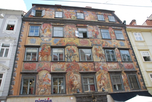 Flânerie à Graz en Autriçe (photos)