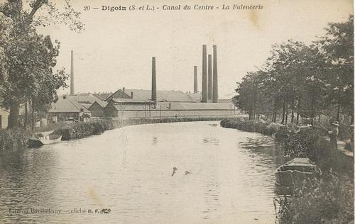 La faïencerie Digoin et Sarreguemines