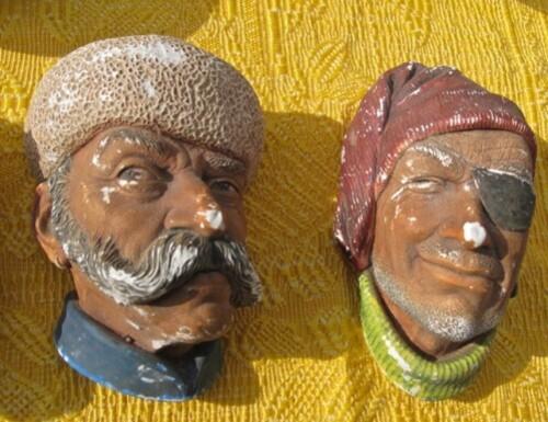 Bossons tête décorative arménien Trafiquant
