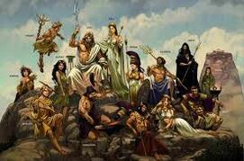 Les dieux et les créatures mythologiques des CM2 a