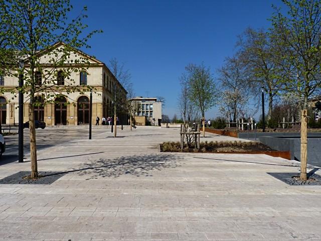 La Nouvelle place de la République de Metz 25 Marc de Metz