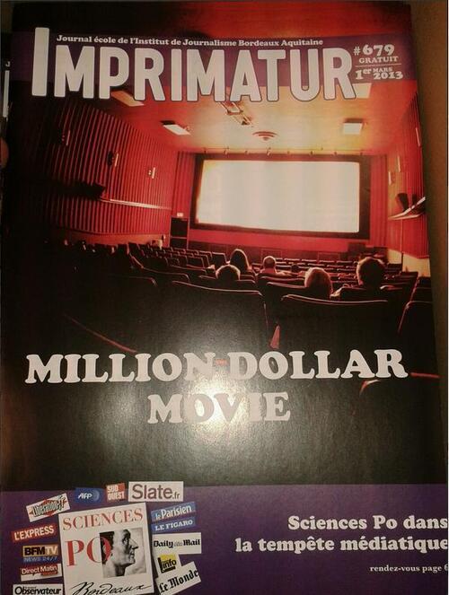 Imprimatur n°679 / 2ème session TV / Tournoi inter-écoles