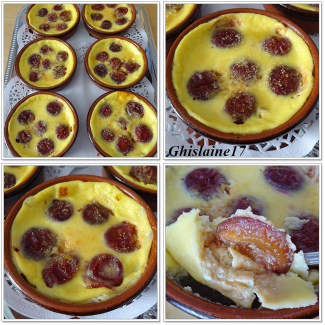 Crème vanillée aux prunes 2ème (Ramequin)