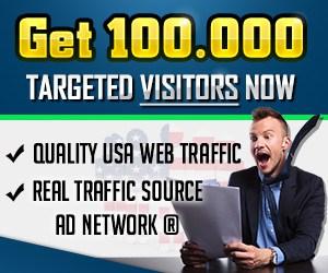 100% US Web Traffic