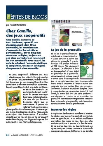 LCM 229 Pépites de blog