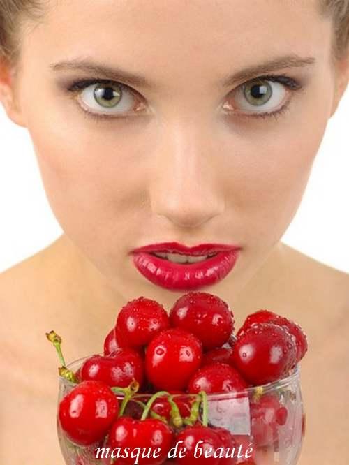 Vertus médicinales des légumes et des fruits : CERISIER