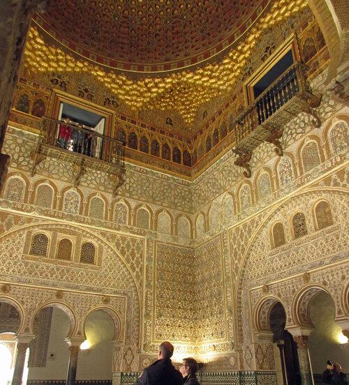 Alcazar : salle des ambassadeurs