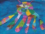 Dans le bleu de Kandinsky
