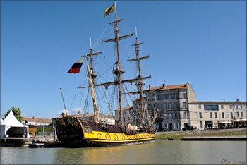Photo du bateau le Shtandart (au port de Rochefort)