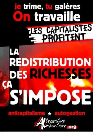 redistribution des richesses