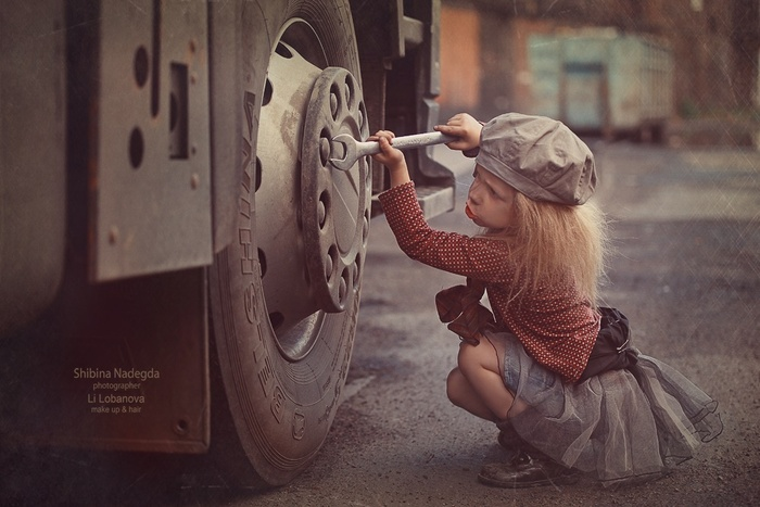 Photos d'enfants mignons de la photographe russe Nadezhda Shibina