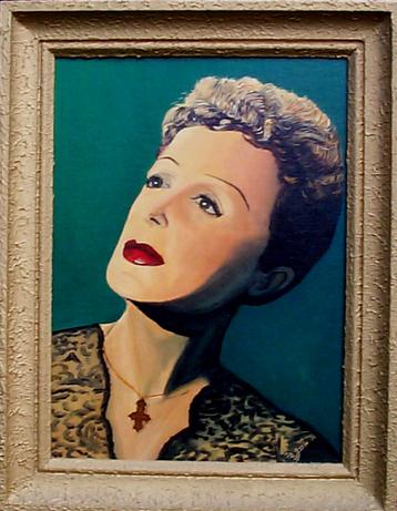 Portrait d'Edith Piaf