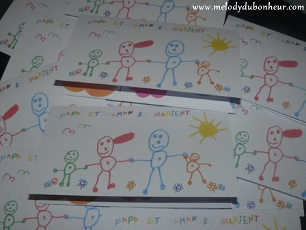 Faire parts dessins d'enfants