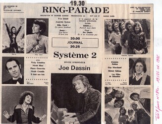 20 juin 1976 / RING PARADE MAJ
