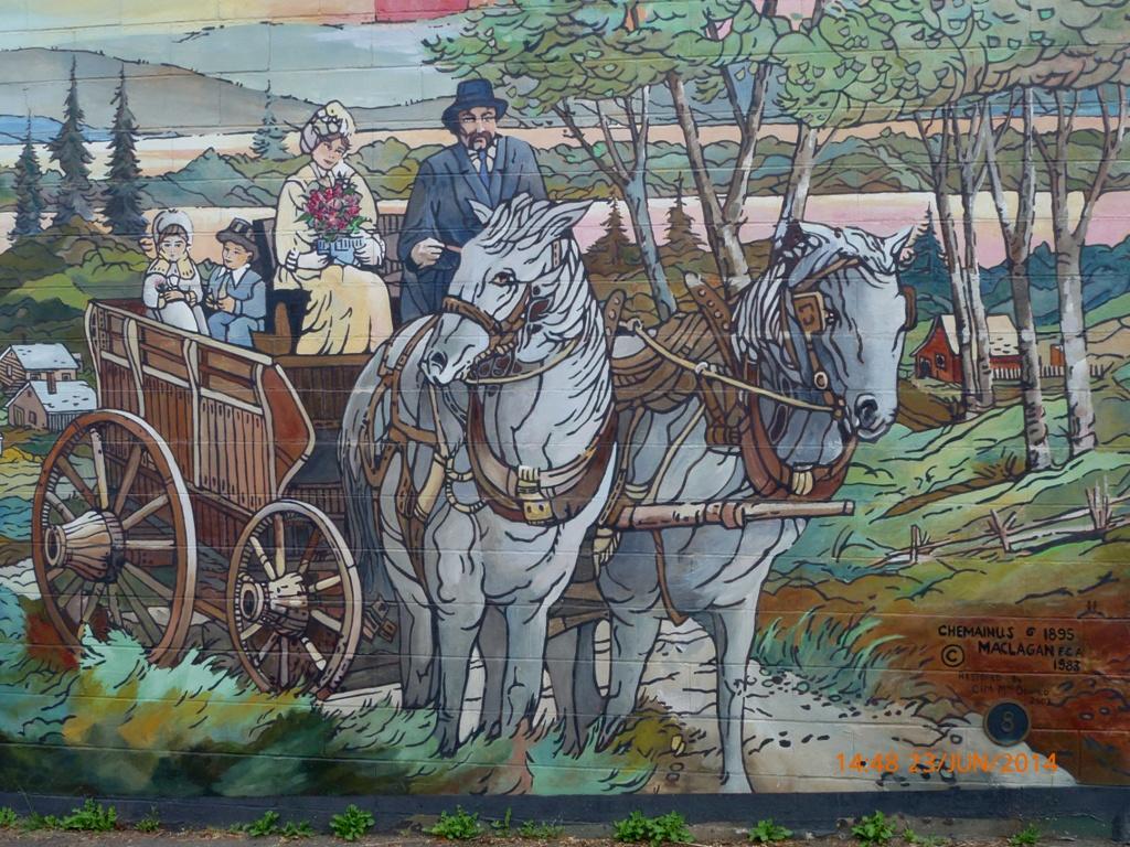 Les peintures murales de CHEMAINUS