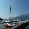 Port de plaisiance à Montreux