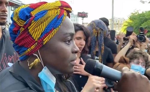 Intervention d'Aïssa Maïga le 2 juin