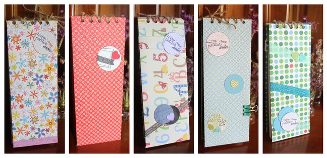 Avril / Couverture pour mémo et carte anniversaire