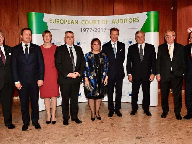 40e anniversaire de la Cour des comptes européenne