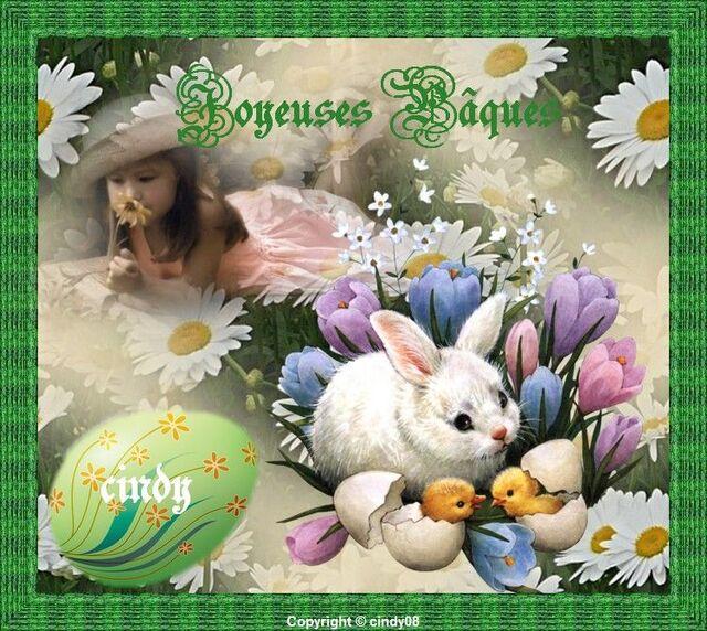 Bon Pâques mes amies , amis