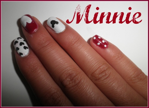 Give Away & Nail Art Minnie :D