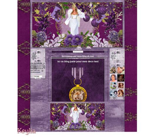 kit noel violet