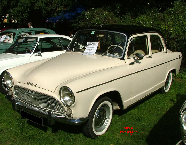 simca aronde   les berlines