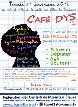 Café DYS : 21 novembre 2015