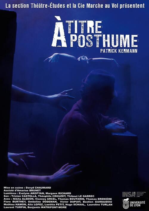 A Titre Posthume (Théâtre-Etudes)