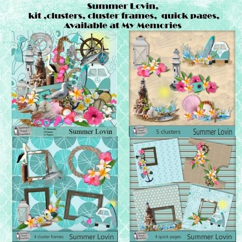 Memories Spotlight Carolyn's Scrap Creations by Louise L
