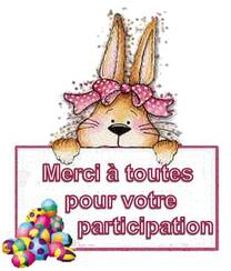 SAL Pâques - Finitions !