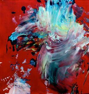 Artiste peintre à 4 ans, Aelita André