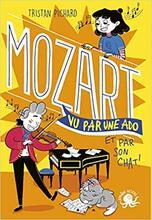 100% bio -Mozart vu par une ado et par son chat !