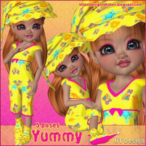 3d Yummy (kiki)