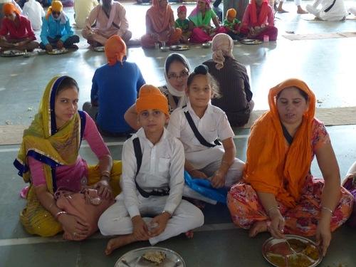 le temple sikh de Gualior; la restauration;