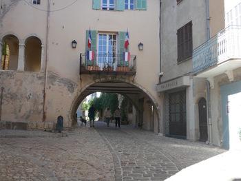 La rue du Valat (vers l'extérieur)