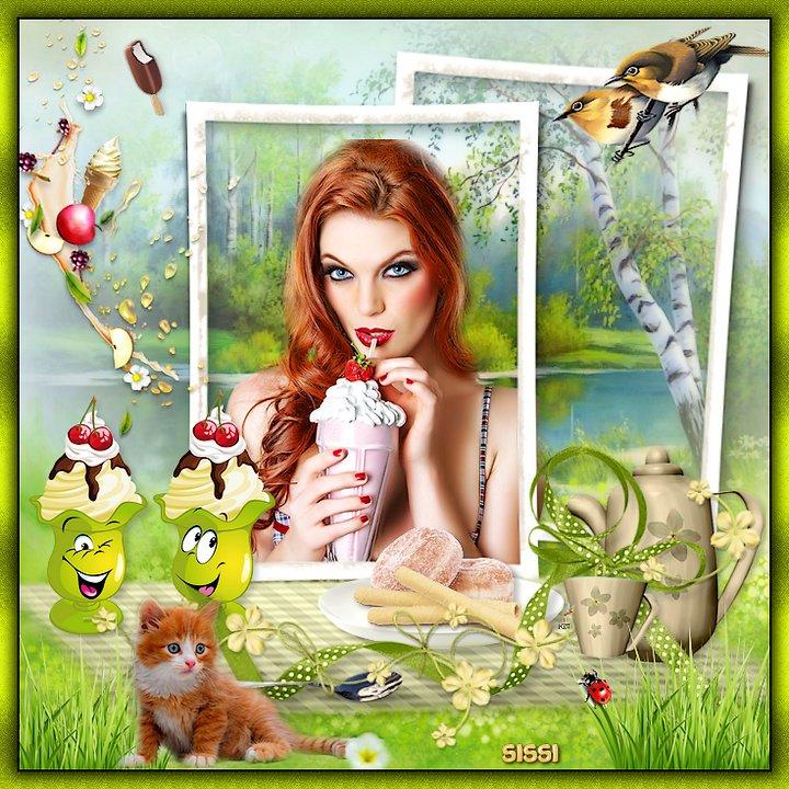 * Mon weekend et Ice Cream * Atelier de Babouchka *
