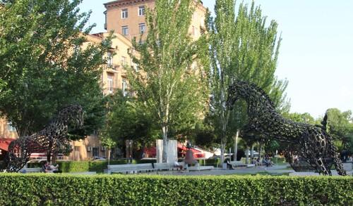 Érevan : La Cascade et son musée en plein air